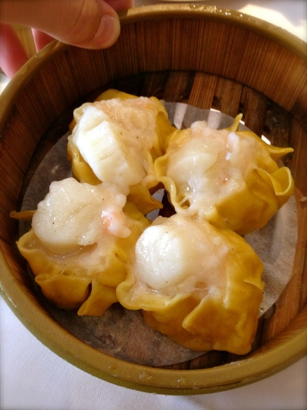 scallop dumplings